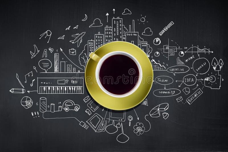 καφές περισσότερος χρόνος στοκ φωτογραφία