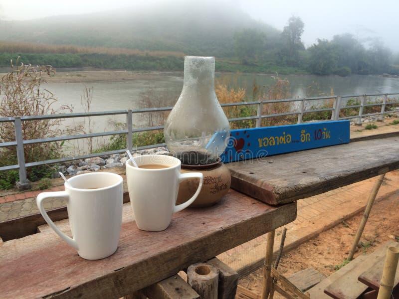 Καφές πρωινού με σας στοκ φωτογραφία με δικαίωμα ελεύθερης χρήσης