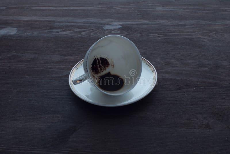 Καφές πρωινού το τέλος στοκ φωτογραφία με δικαίωμα ελεύθερης χρήσης