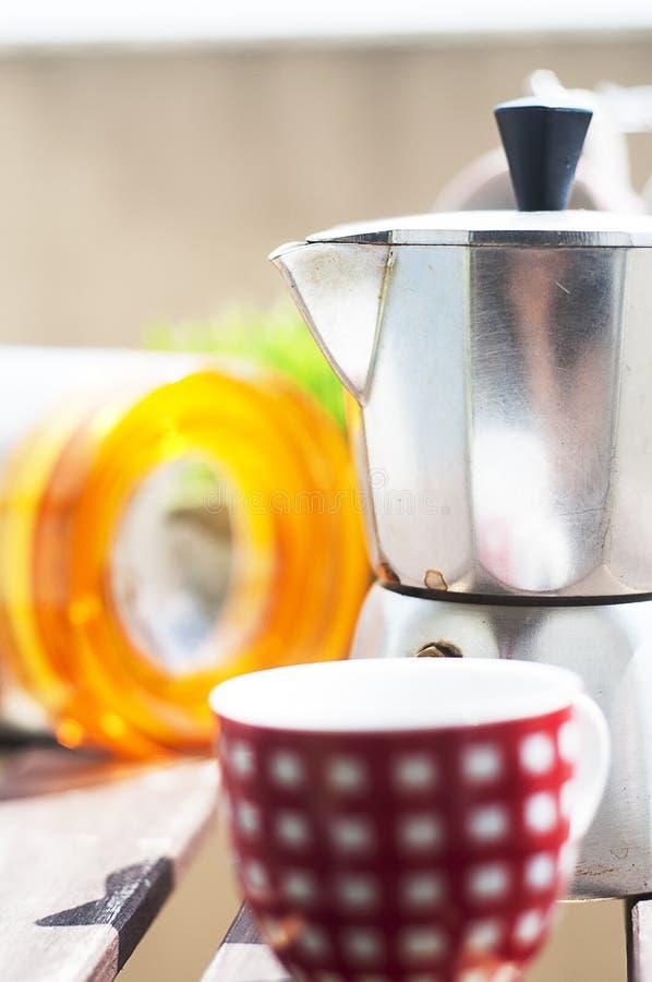 Καφές πρωινού στοκ εικόνα