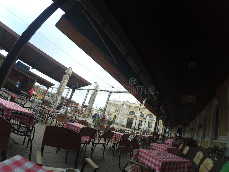 Καφές σε Βελιγράδι στοκ φωτογραφίες με δικαίωμα ελεύθερης χρήσης