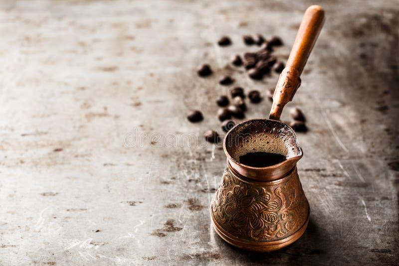 Καφές σε Τούρκο στοκ φωτογραφία με δικαίωμα ελεύθερης χρήσης