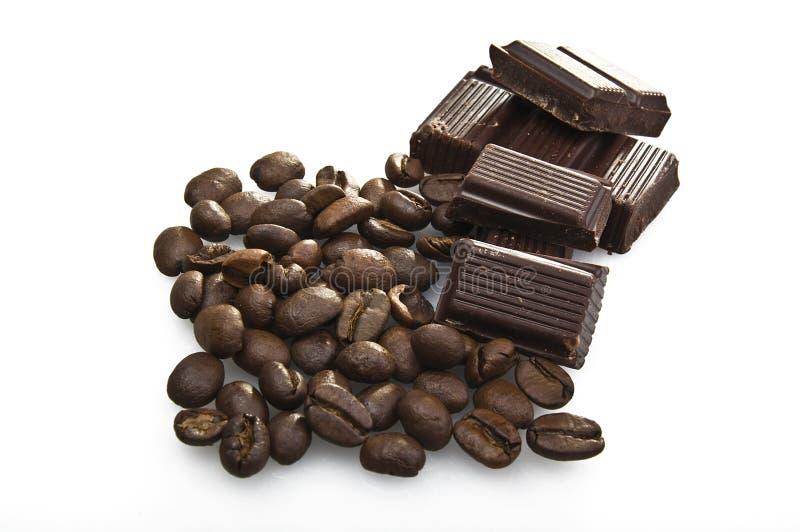 καφές σοκολάτας φασολιών στοκ φωτογραφία με δικαίωμα ελεύθερης χρήσης
