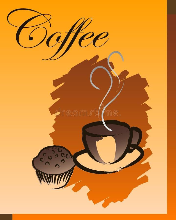 καφές σπασιμάτων διανυσματική απεικόνιση