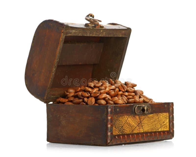Καφές στο στήθος στοκ εικόνες