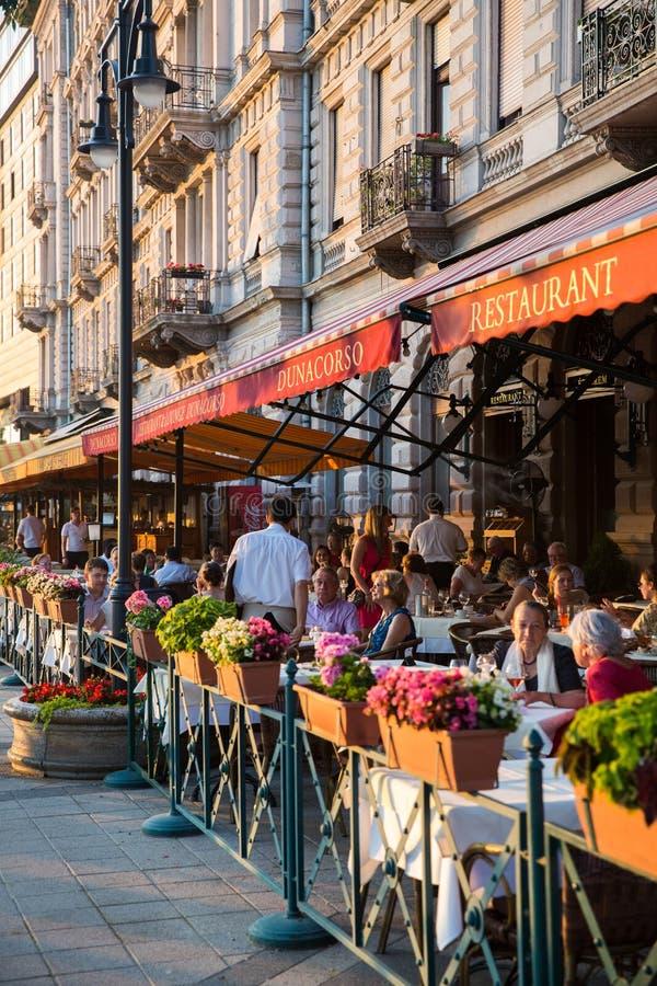 Καφές της Βουδαπέστης στοκ φωτογραφία