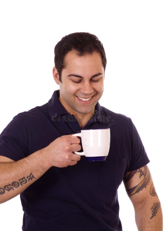 καφές το άτομό του στοκ εικόνα