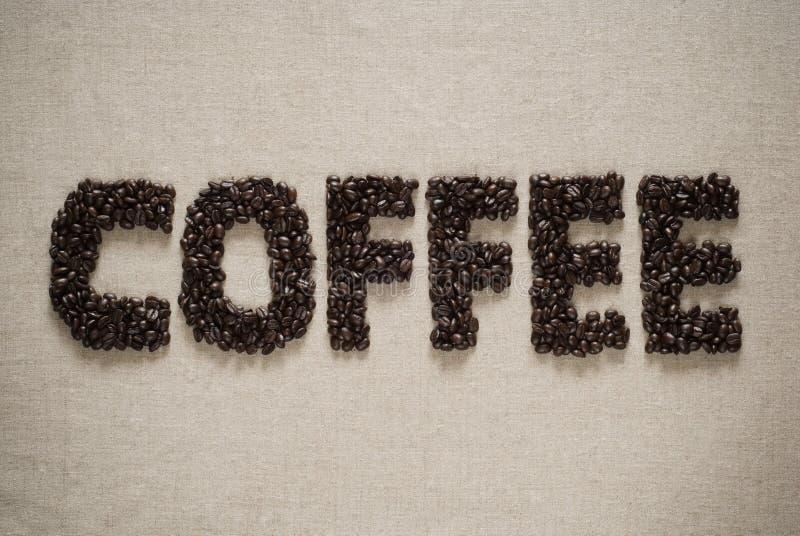 καφές φασολιών που συλ&lamb στοκ φωτογραφία με δικαίωμα ελεύθερης χρήσης