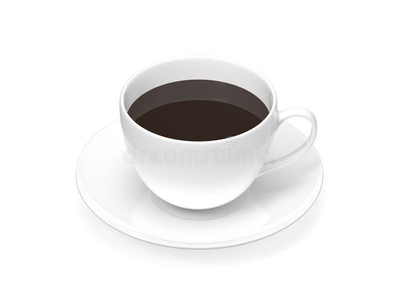 Καφές φλυτζανιών στοκ εικόνα με δικαίωμα ελεύθερης χρήσης