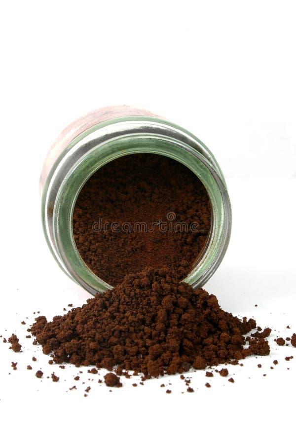 καφές 3 που ανατρέπεται στοκ εικόνες