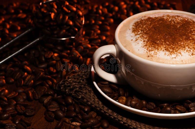 καφές cappuccino frothy στοκ φωτογραφίες με δικαίωμα ελεύθερης χρήσης