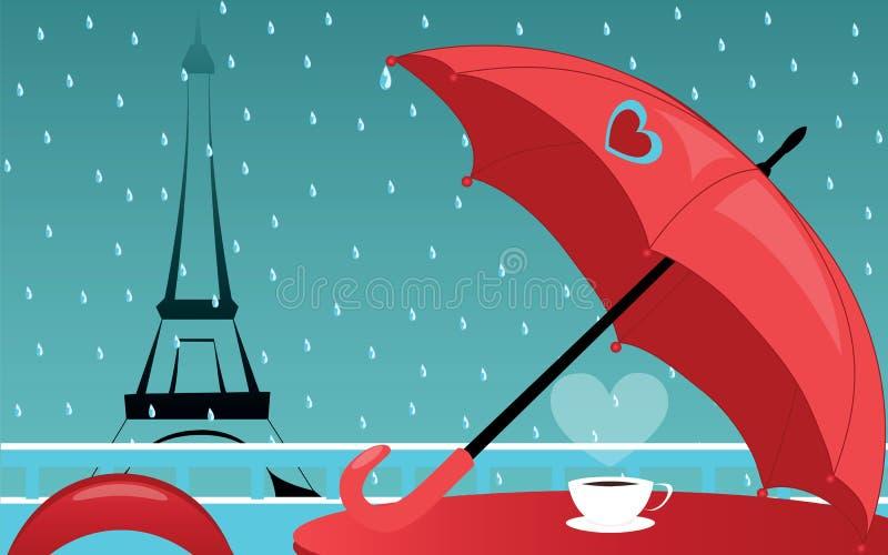 καφές de Παρίσι ελεύθερη απεικόνιση δικαιώματος