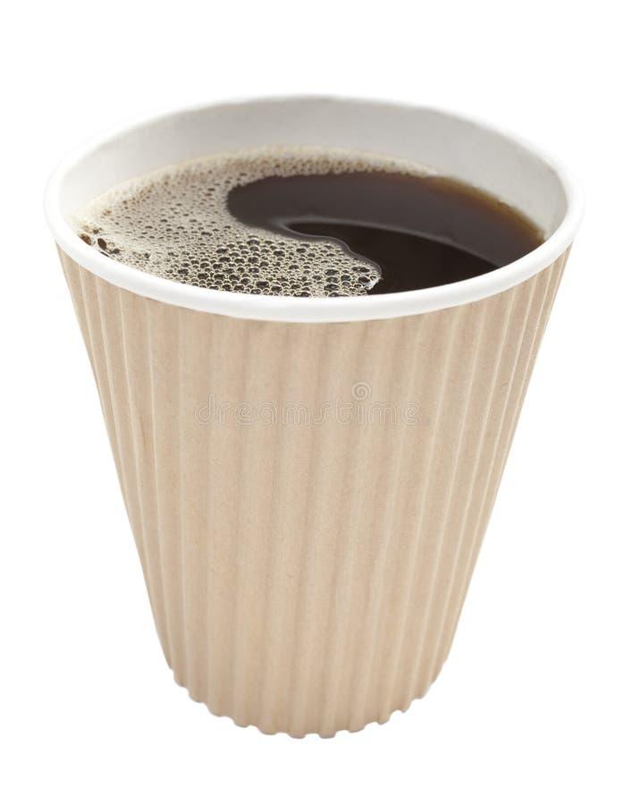 καφές take-$l*away στοκ φωτογραφία