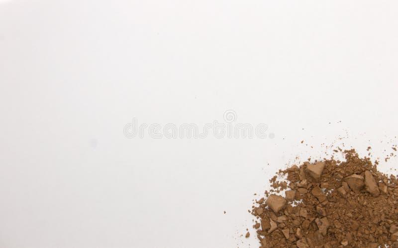 Καφέ παράθυρο απομονωμένο σε λευκό φόντο στοκ φωτογραφίες με δικαίωμα ελεύθερης χρήσης