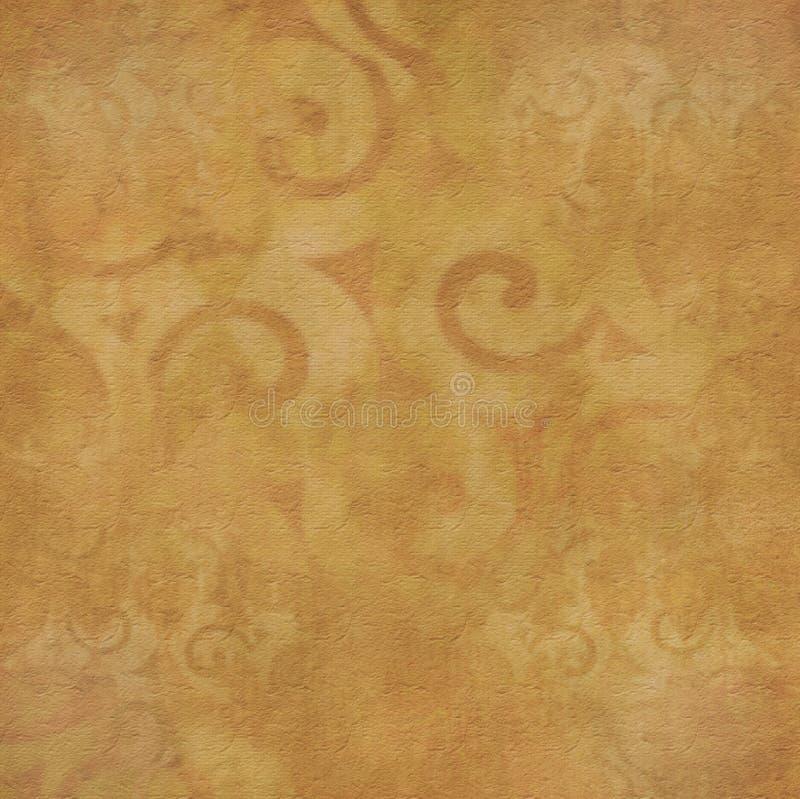 καφετής βρώμικος κίτρινο&si διανυσματική απεικόνιση