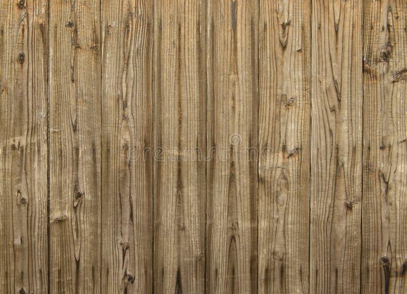Καφετής ξύλινος τοίχος σανίδων στοκ φωτογραφία με δικαίωμα ελεύθερης χρήσης