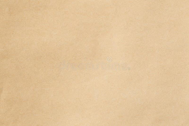 Καφετί έγγραφο για το υπόβαθρο στοκ φωτογραφία