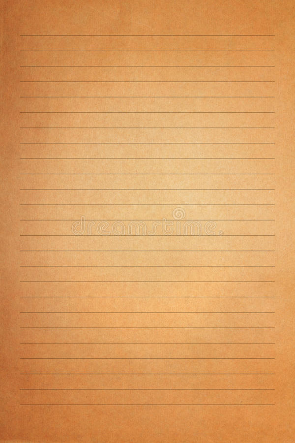 Καφετί εκλεκτής ποιότητας παλαιό έγγραφο επιστολών στοκ φωτογραφία με δικαίωμα ελεύθερης χρήσης