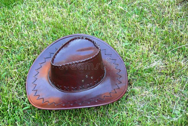 καφετί καπέλο κάουμποϋ στοκ εικόνα
