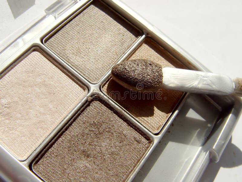 καφετί μάτι Makeup Στοκ εικόνες με δικαίωμα ελεύθερης χρήσης