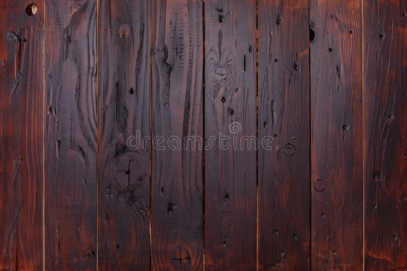 Καφετί ξύλινο σανίδες ή παρκέ υποβάθρου στοκ εικόνες