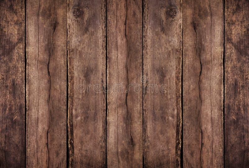 Καφετί ξύλινο κατασκευασμένο υπόβαθρο με woodgrain τη λεπτομέρεια στοκ φωτογραφία με δικαίωμα ελεύθερης χρήσης