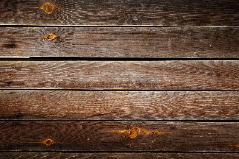 Καφετί ξύλινο υπόβαθρο σύστασης σανίδων ξυλείας στοκ φωτογραφία