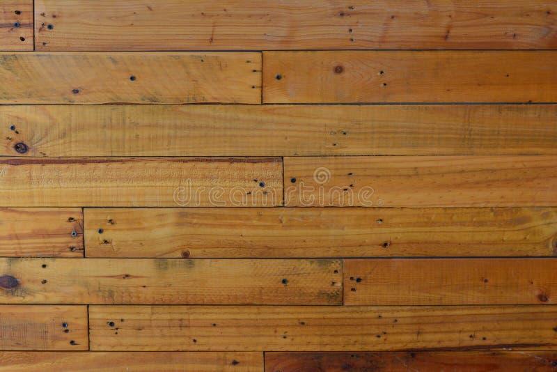 Καφετί ξύλο σιταποθηκών τοίχων για το υπόβαθρο στοκ φωτογραφία