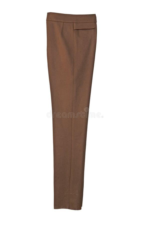 καφετί παντελόνι μάλλινο στοκ φωτογραφία με δικαίωμα ελεύθερης χρήσης