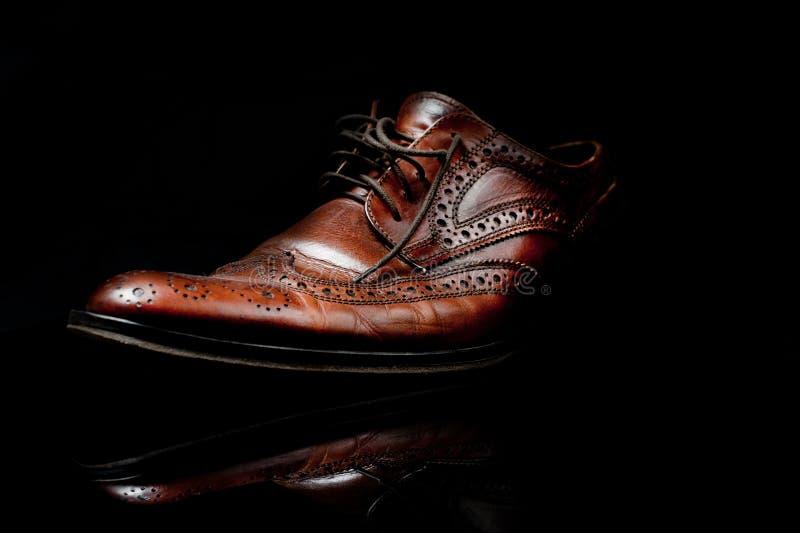 καφετί παπούτσι στοκ εικόνες