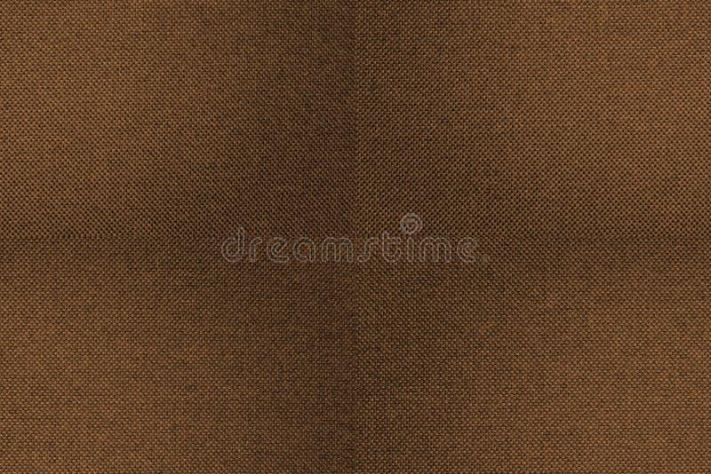 Καφετί υπόβαθρο σύστασης υφάσματος άνευ ραφής στοκ εικόνα