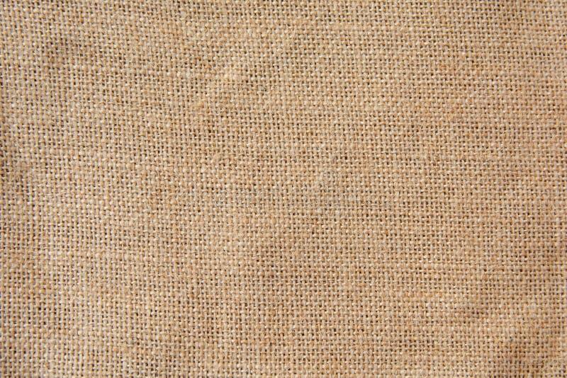 Καφετί burlap, sackcloth υπόβαθρο σύστασης στοκ φωτογραφίες με δικαίωμα ελεύθερης χρήσης