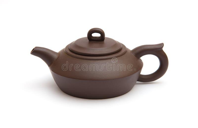 Download καφετί teapot στοκ εικόνα. εικόνα από υγιής, ασιατικοί - 13177357