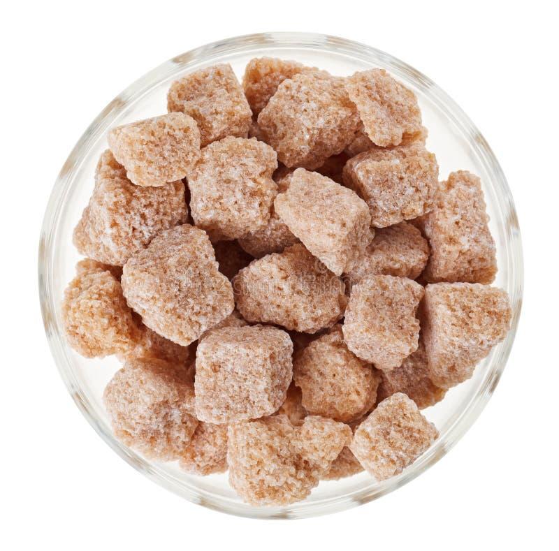 καφετιά ζάχαρη κομματιών γ&ups στοκ εικόνα με δικαίωμα ελεύθερης χρήσης