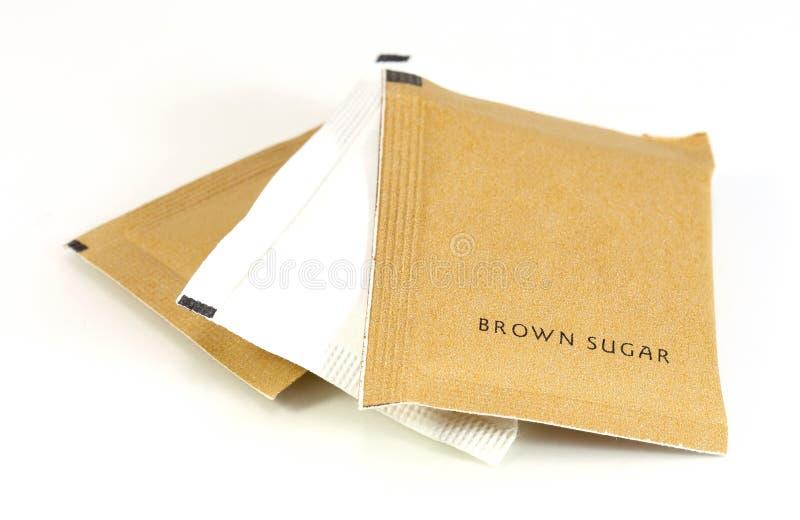Καφετιά ζάχαρη στοκ εικόνα
