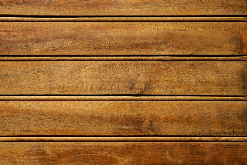 Καφετιά ξύλινη σύσταση κινηματογραφήσεων σε πρώτο πλάνο Αφηρημένο υπόβαθρο, κενό πρότυπο Τοίχος φιαγμένος από ξύλινες σανίδες Αγρ στοκ εικόνες
