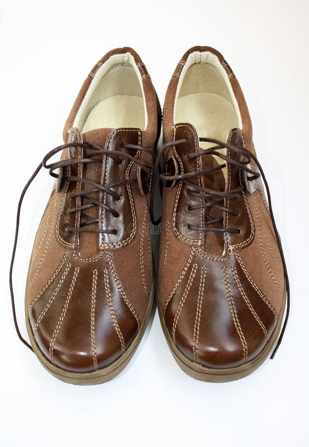 καφετιά παπούτσια ζευγα στοκ φωτογραφία με δικαίωμα ελεύθερης χρήσης