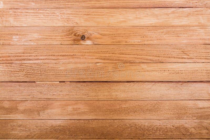 Καφετιά παλαιά ξύλινη σύσταση με τον κόμβο στοκ εικόνες