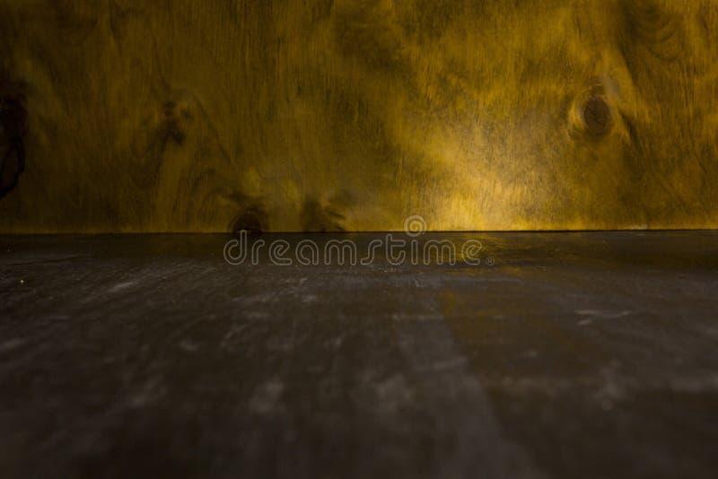 Καφετιά πλυμένη ξύλινη σύσταση στοκ εικόνα με δικαίωμα ελεύθερης χρήσης