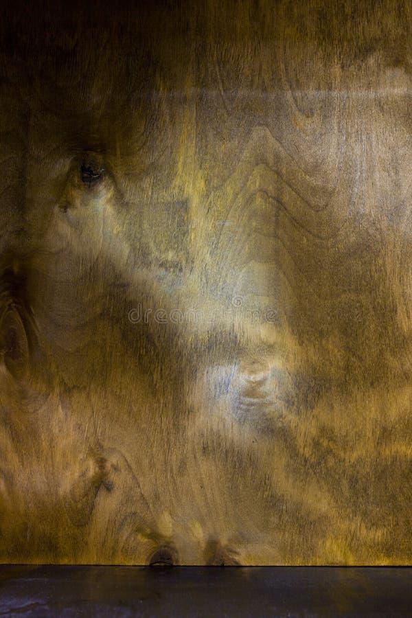 Καφετιά πλυμένη ξύλινη σύσταση στοκ φωτογραφία με δικαίωμα ελεύθερης χρήσης