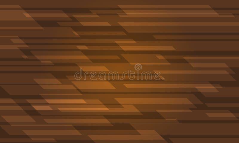 Καφετιά σύγχρονη αφηρημένη γεωμετρική διανυσματική απεικόνιση υποβάθρου διανυσματική απεικόνιση