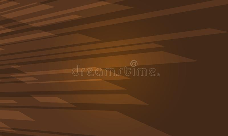 Καφετιά σύγχρονη αφηρημένη διανυσματική απεικόνιση υποβάθρου κουράς γεωμετρική απεικόνιση αποθεμάτων