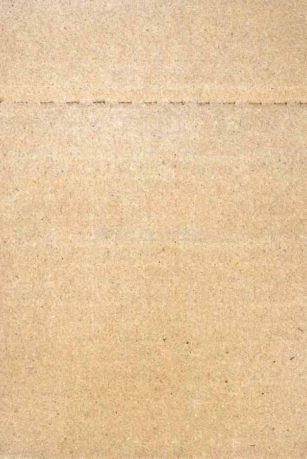Καφετιά σύσταση υποβάθρου χαρτονιού στοκ φωτογραφία με δικαίωμα ελεύθερης χρήσης