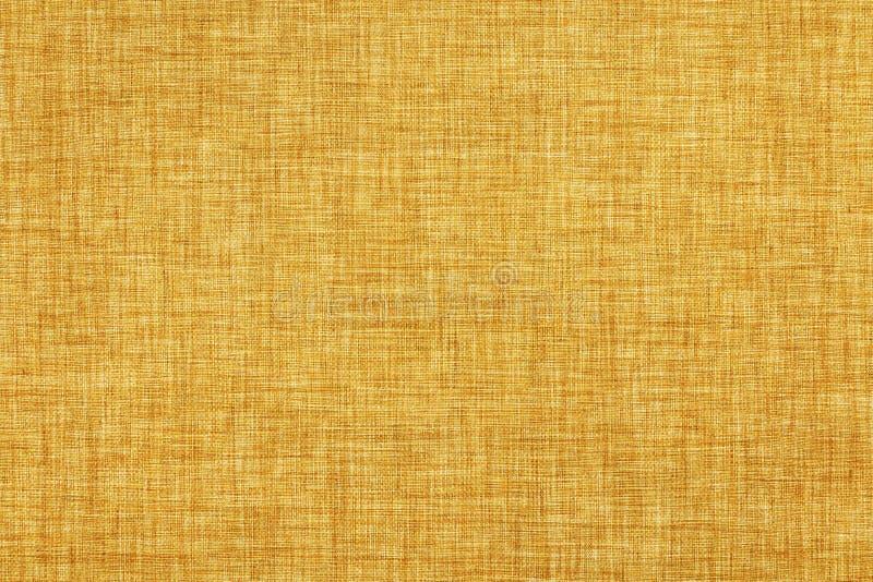 Καφετιά χρωματισμένη φυσική σύσταση λινού ή εκλεκτής ποιότητας υπόβαθρο καμβά στοκ εικόνες