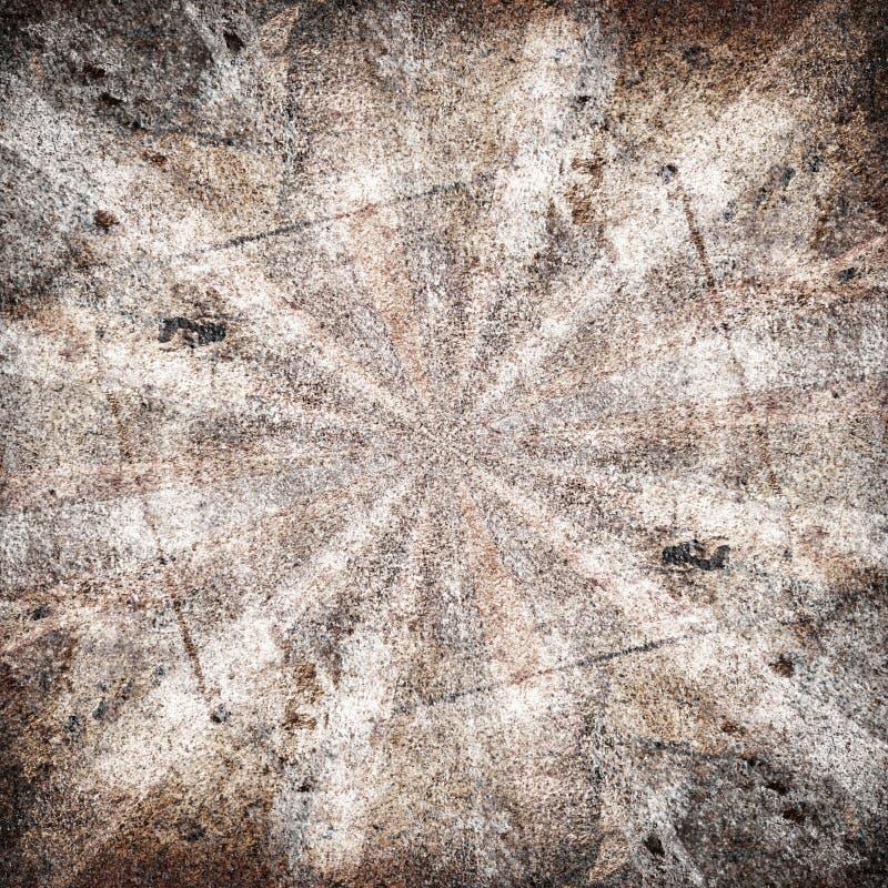 Καφετιές ακτίνες διανυσματική απεικόνιση