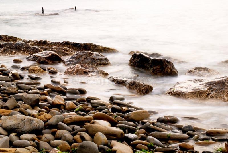 καφετιοί βράχοι στοκ εικόνες με δικαίωμα ελεύθερης χρήσης