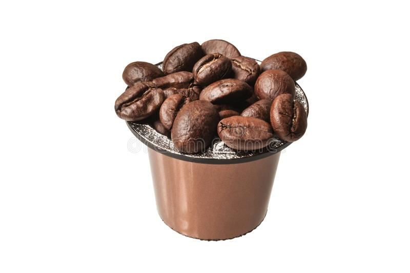 Καψάκιο καφέ στοκ εικόνες με δικαίωμα ελεύθερης χρήσης
