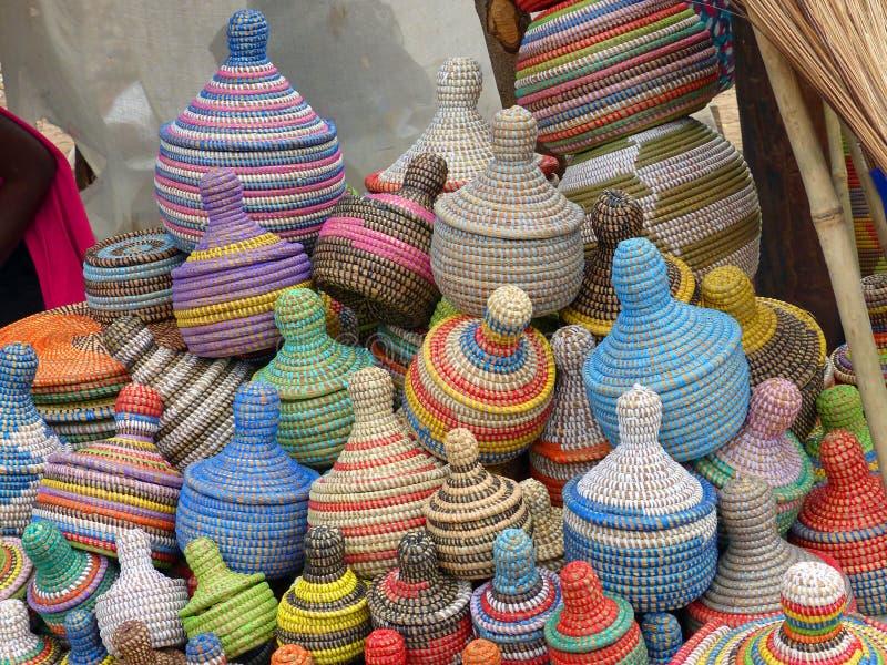 Καλάθια για την πώληση, Σενεγάλη στοκ φωτογραφίες με δικαίωμα ελεύθερης χρήσης