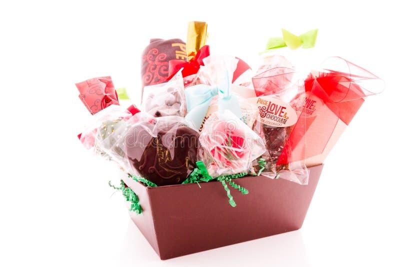 Καλάθι δώρων στοκ φωτογραφία με δικαίωμα ελεύθερης χρήσης