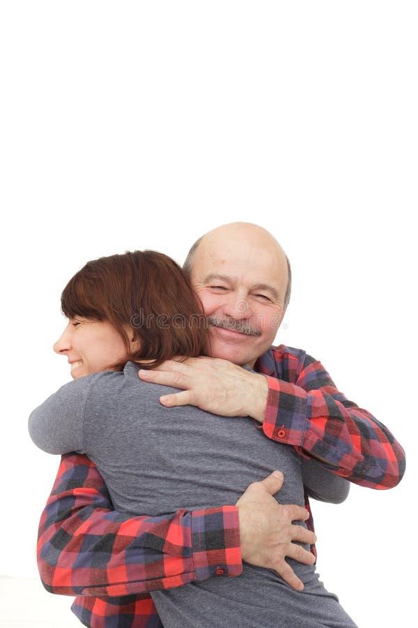 Καλές σχέσεις μεταξύ των γονέων και των παιδιών στοκ εικόνα με δικαίωμα ελεύθερης χρήσης